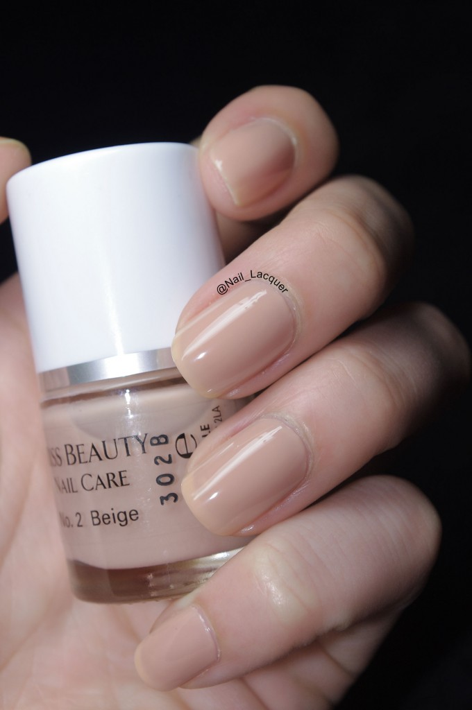 Miss Beauty beige swatch (4)