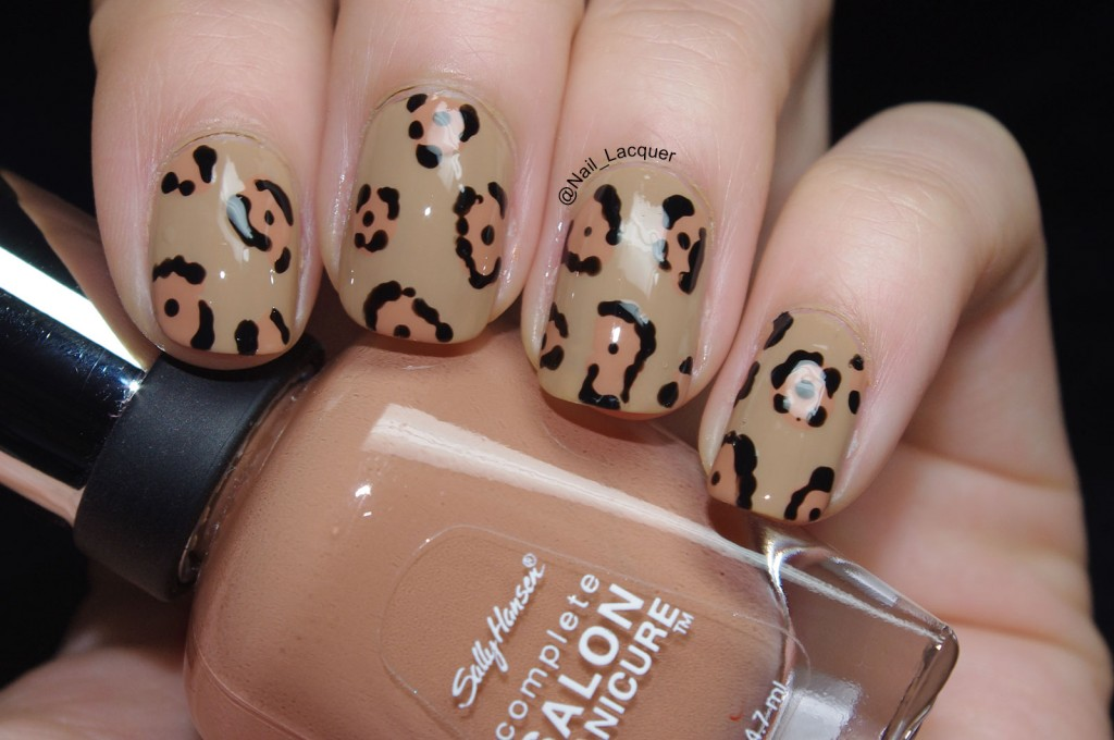 Jaguar nail art (1)