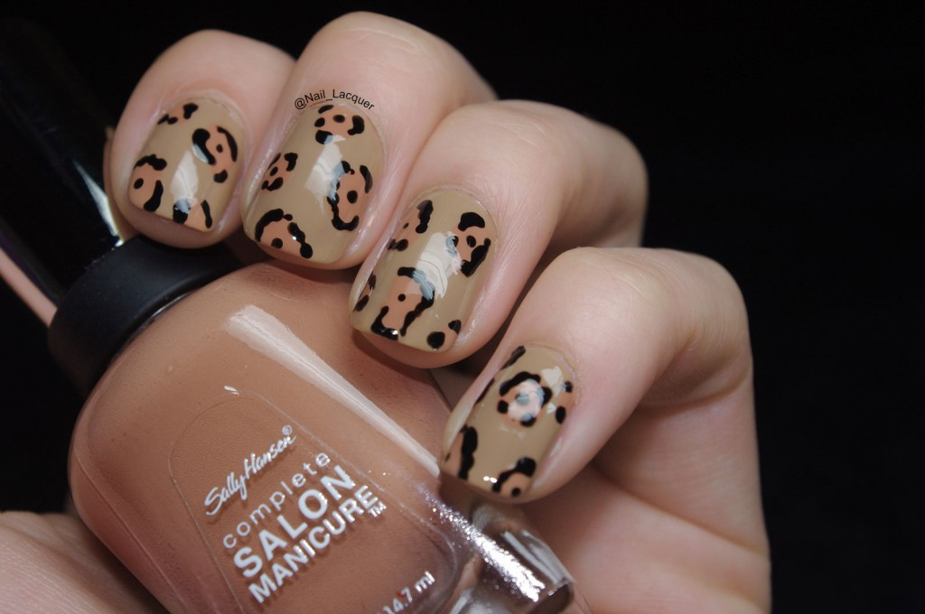 Jaguar nail art (2)