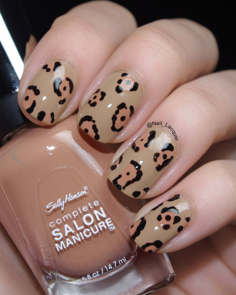 Jaguar nail art (3)