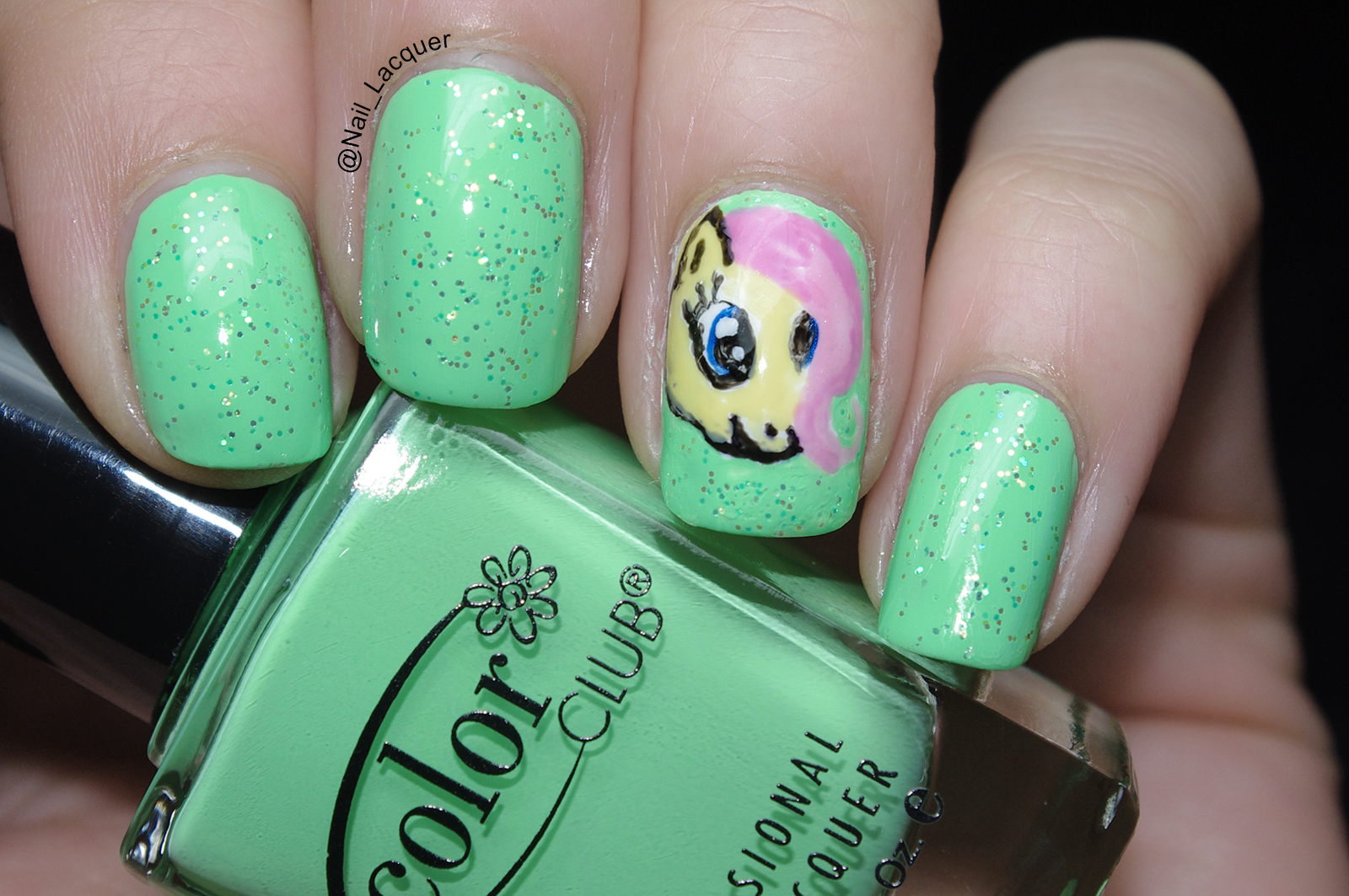 My Little Pony nail art | Nail Lacquer UK | Bloglovin\'
