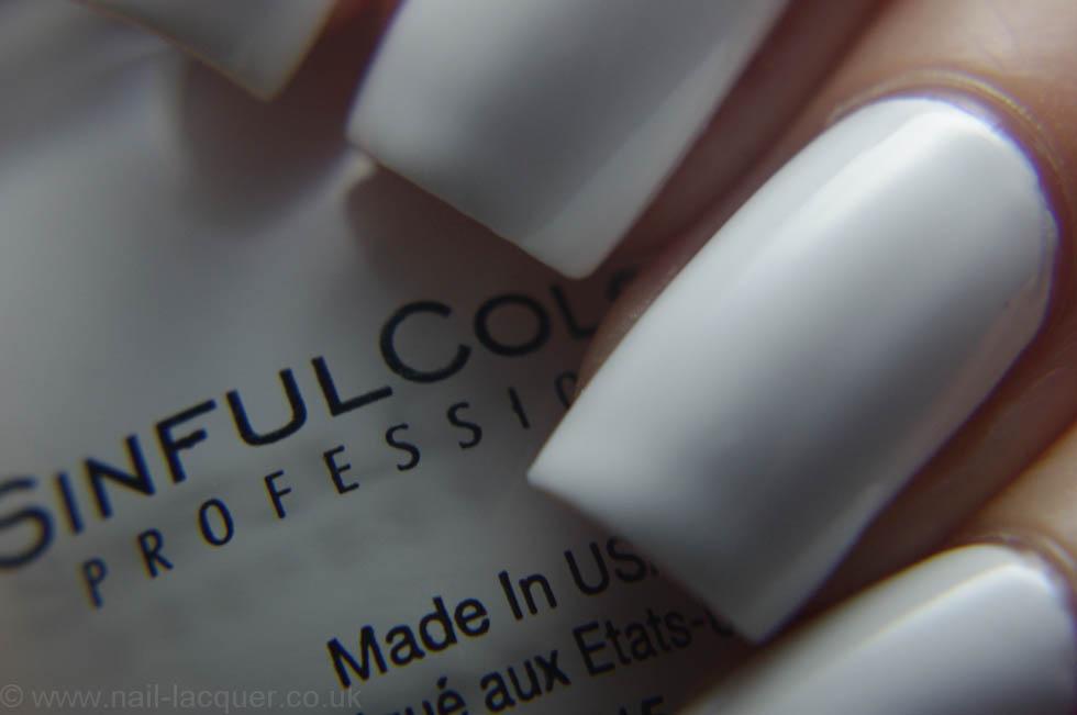 Best white nail polish - Nail Lacquer UK