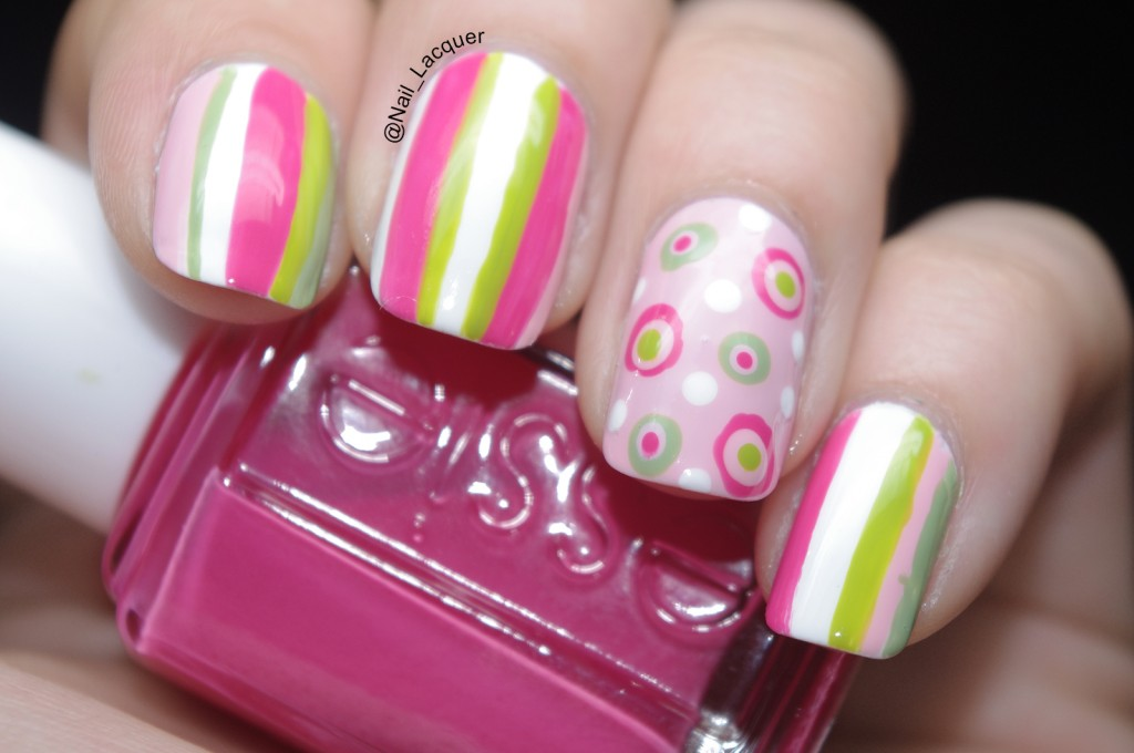 stripes-and-polka-dots-nail-art (7)