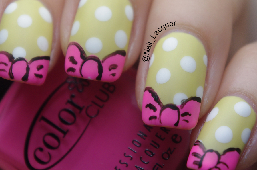 Daisy-duck-nail-art (1)