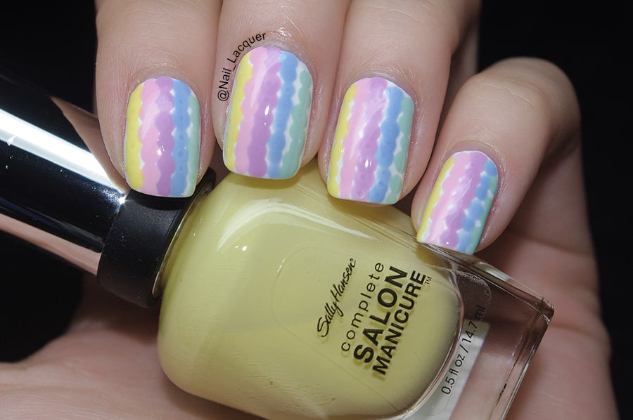 Dotted-stripes-nail-art (1)