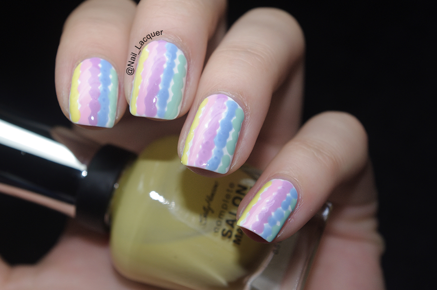 Dotted-stripes-nail-art (2)