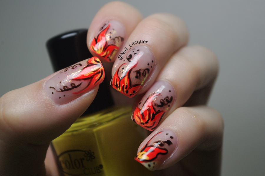 fire-flower-nail-art (11)