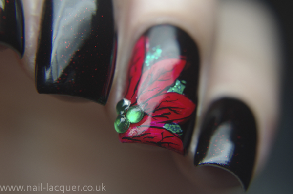 20131206-Poinsettia-nail-art (7)