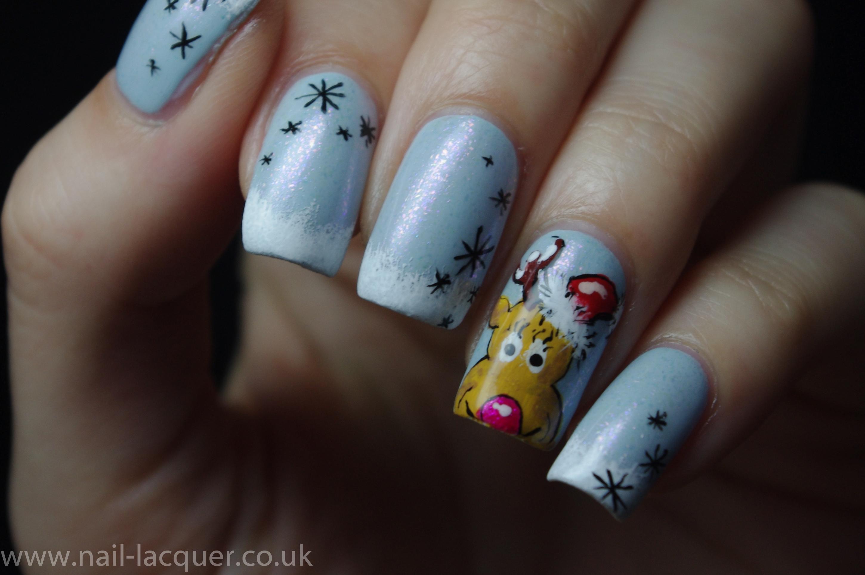 reindeer-nail-art (12)