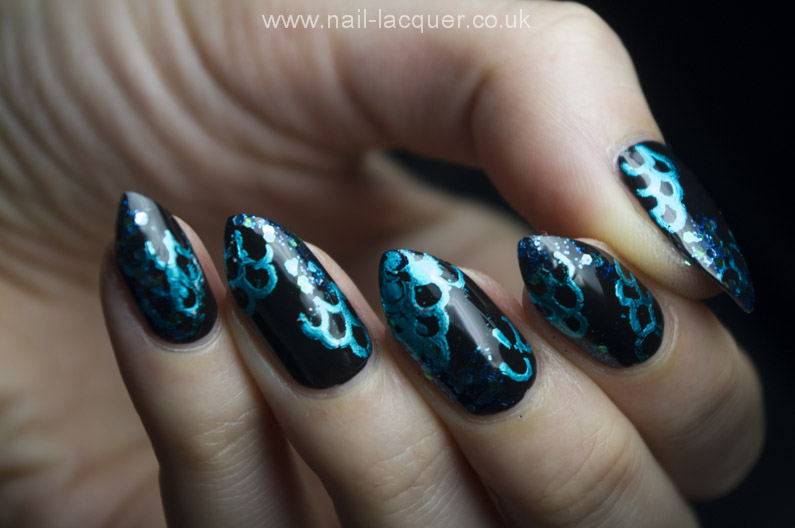 Nail foil pattern tutorial nail lacquer uk bloglovin nail foil pattern tutorial prinsesfo Choice Image