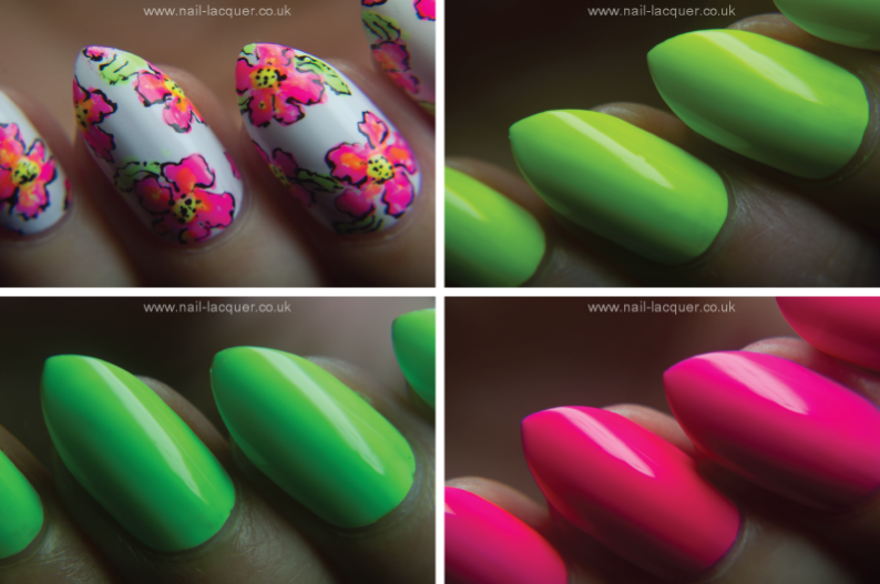 GlamLac-neon-swatches